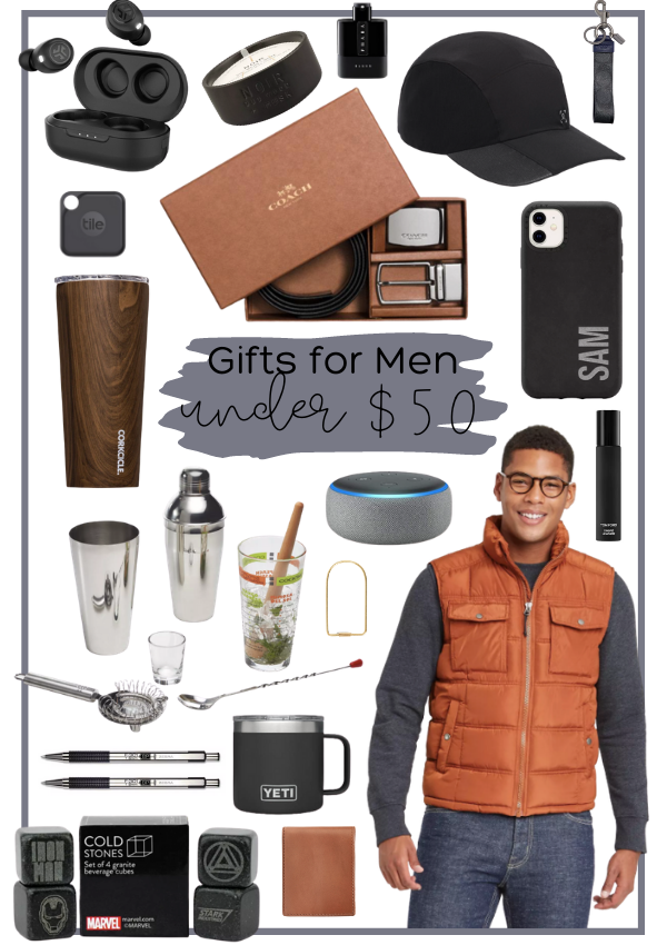 Holiday Gift Guide – Gifts for Men Under $50