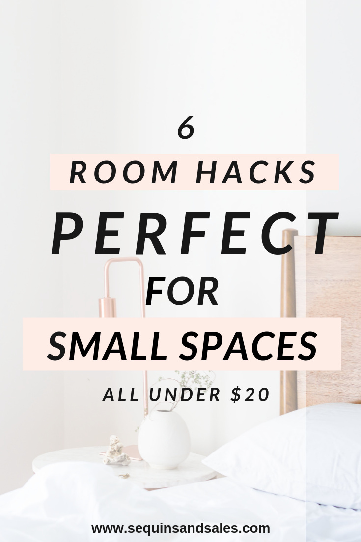 Six Room Hacks Perfect for Small Spaces All Under Twenty Dollars