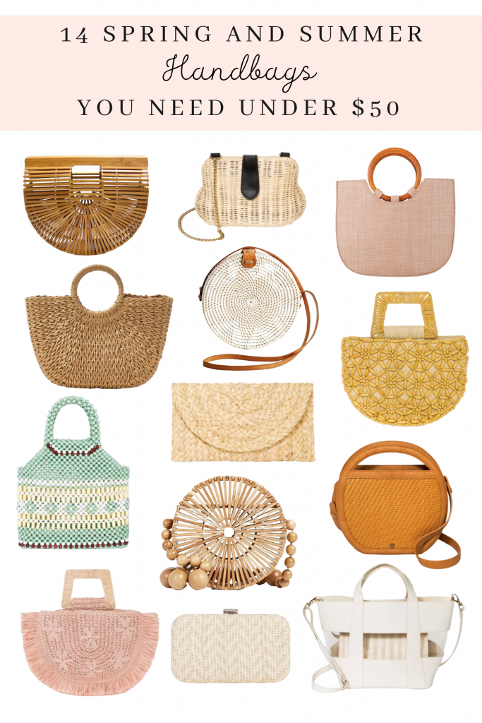 14 Spring and Summer Handbags You Need Under $50