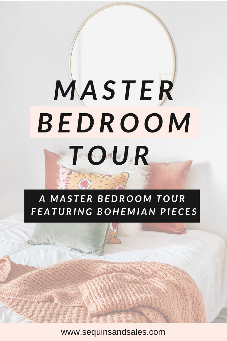 Master Bedroom Tour Cover Photo