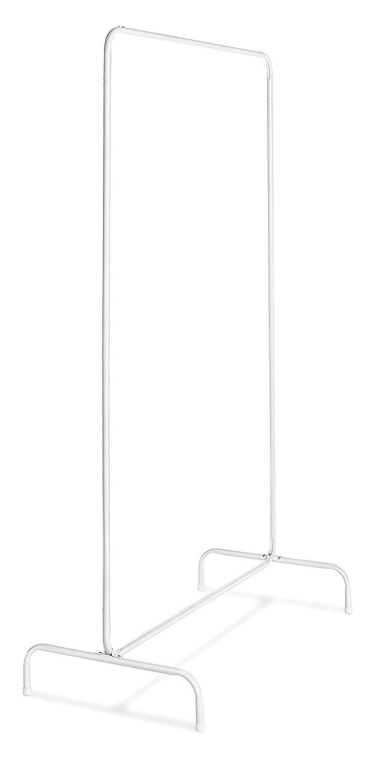 White Freestanding Clothing Rack