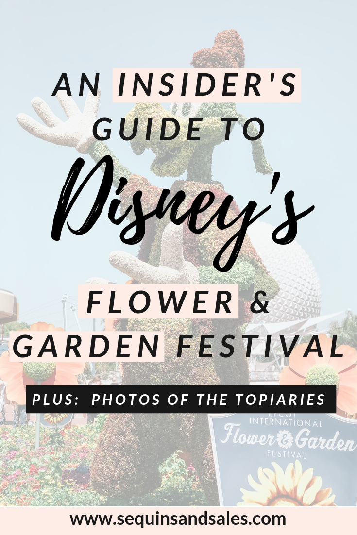 An Insider's Guide to Disney's Flower and Garden Festival Cover