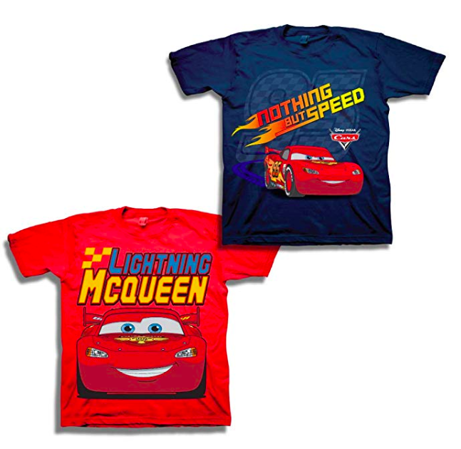 Lightning McQueen T-Shirt Set Disney Finds