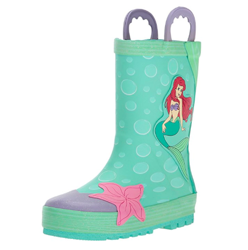 Little Mermaid Rain Boots Disney Finds