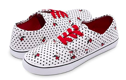 Polka Dot Minnie Sneakers Disney Finds