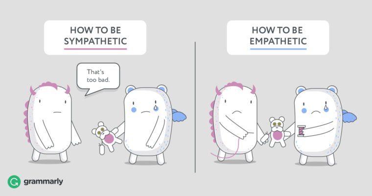 Empathetic vs Sympathetic Grammarly Photo