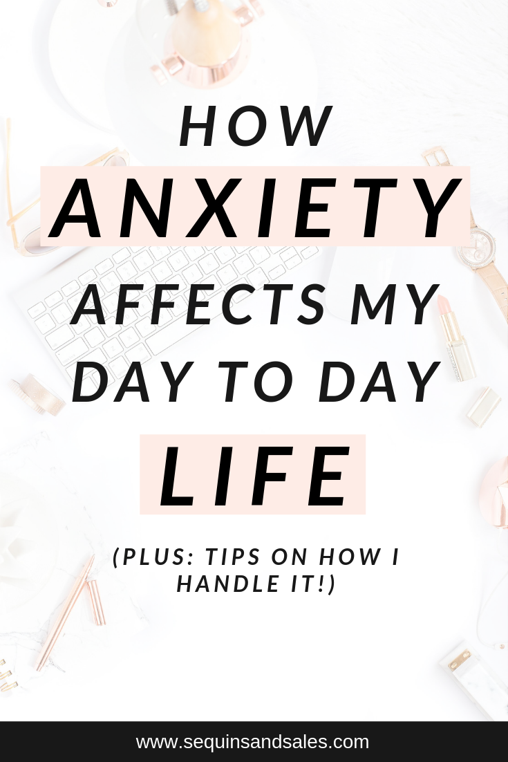 How Anxiety Affects My Day to Day Life Cover Photo