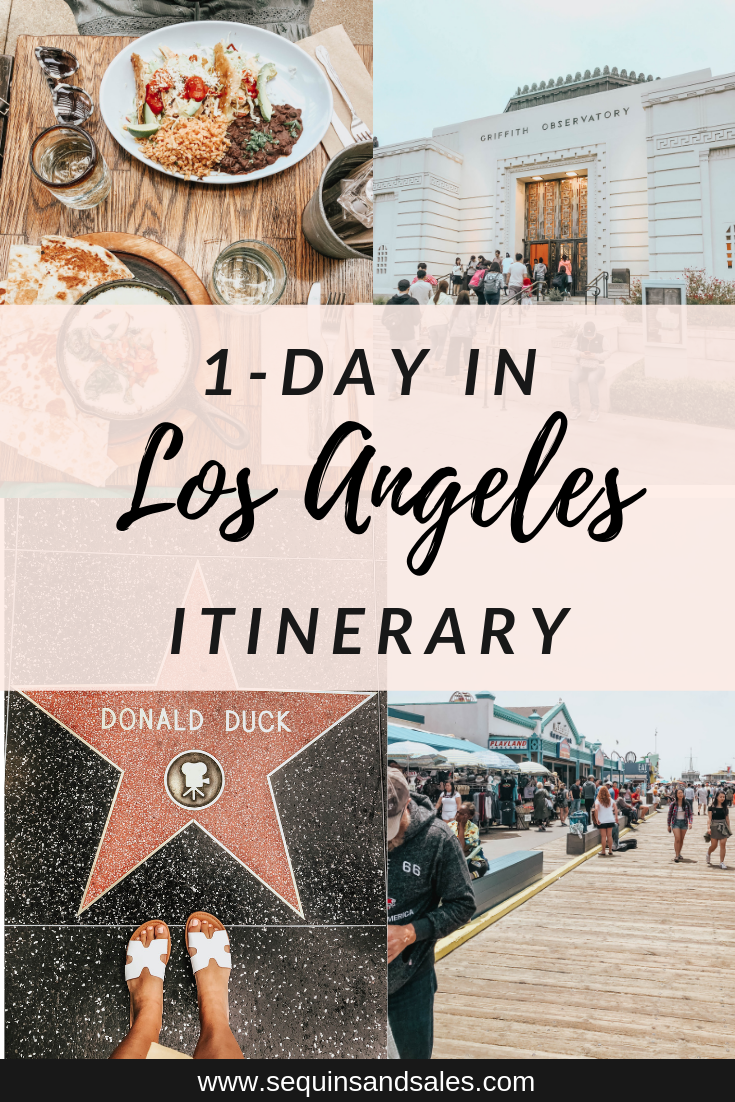 One Day in Los Angeles Itinerary Cover Photo