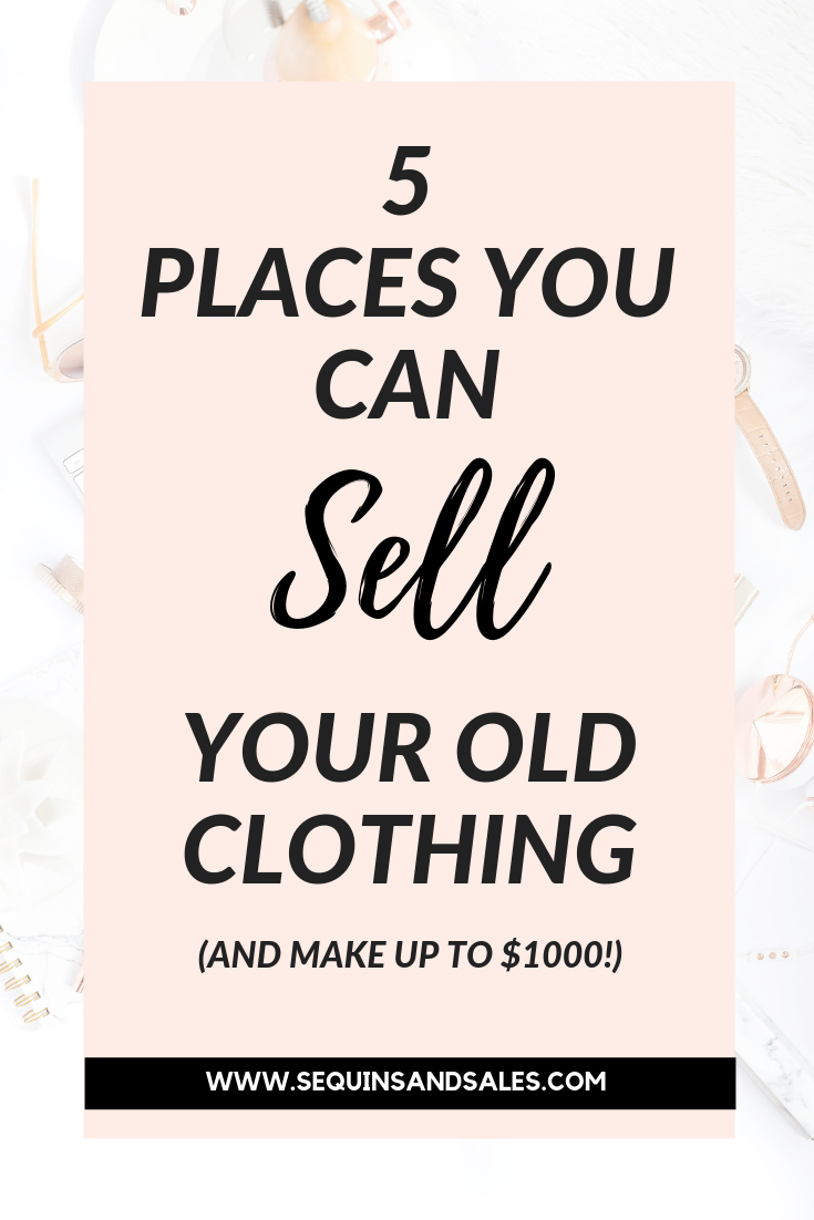 5 Places to Sell Your Old Clothing Cover Photo