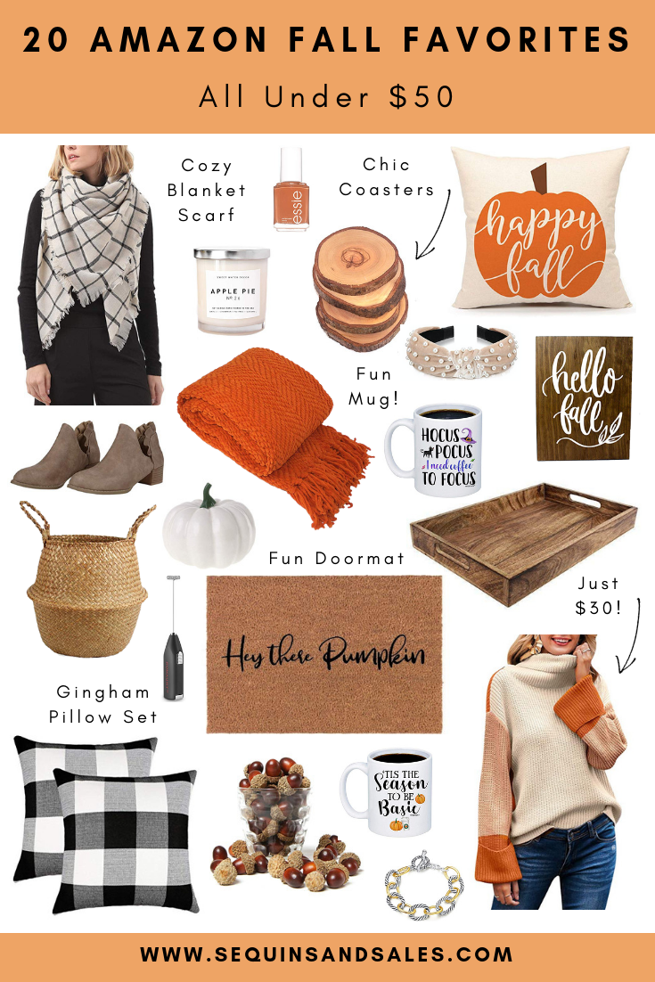 20 Amazon Finds Perfect for the Fall