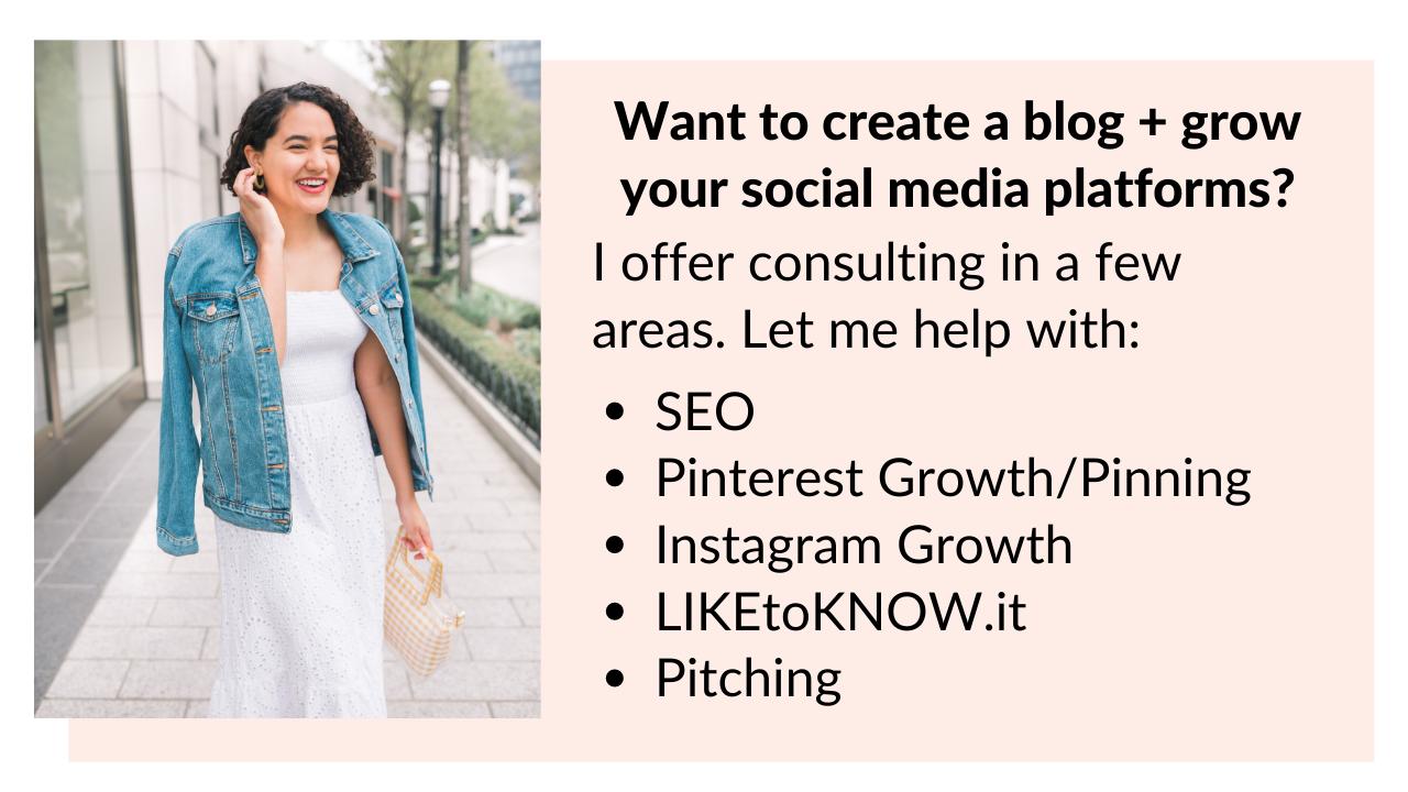 consulting CTA create a blog