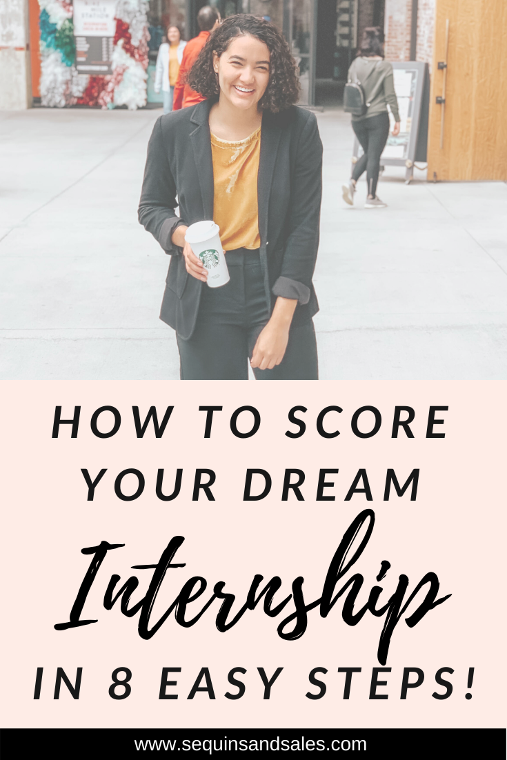 How to Score Your Dream Internship in Eight Easy Steps Cover Photo