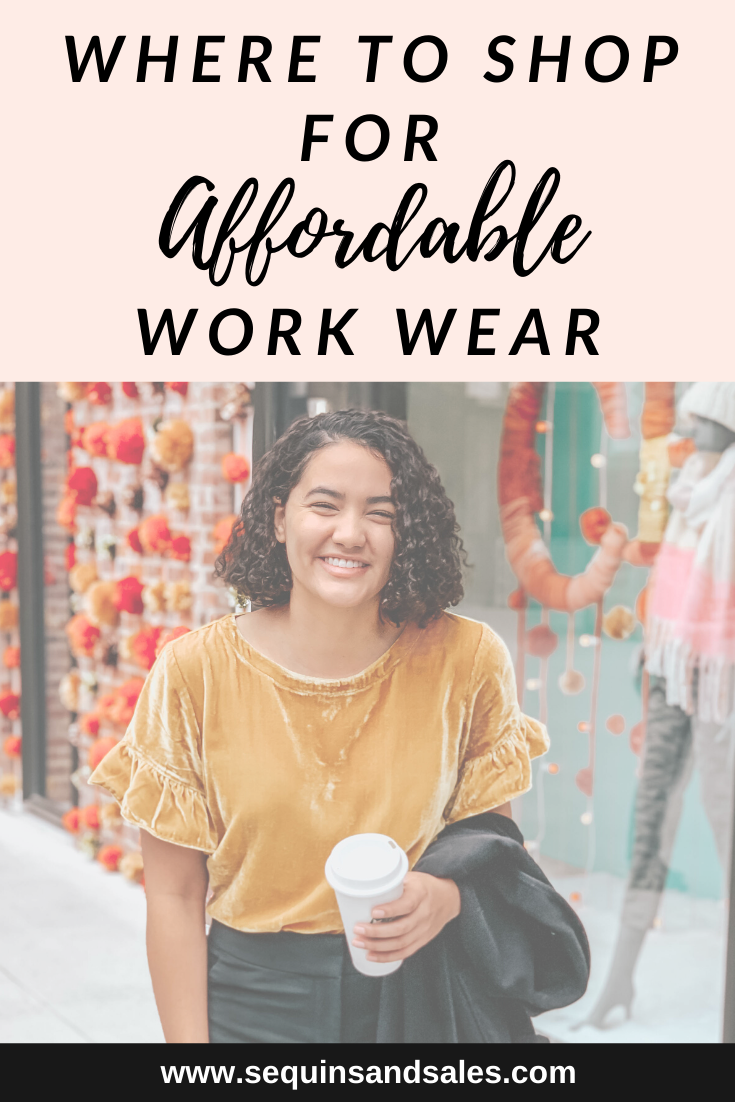 Where to Shop for Affordable Work Wear Cover Photo