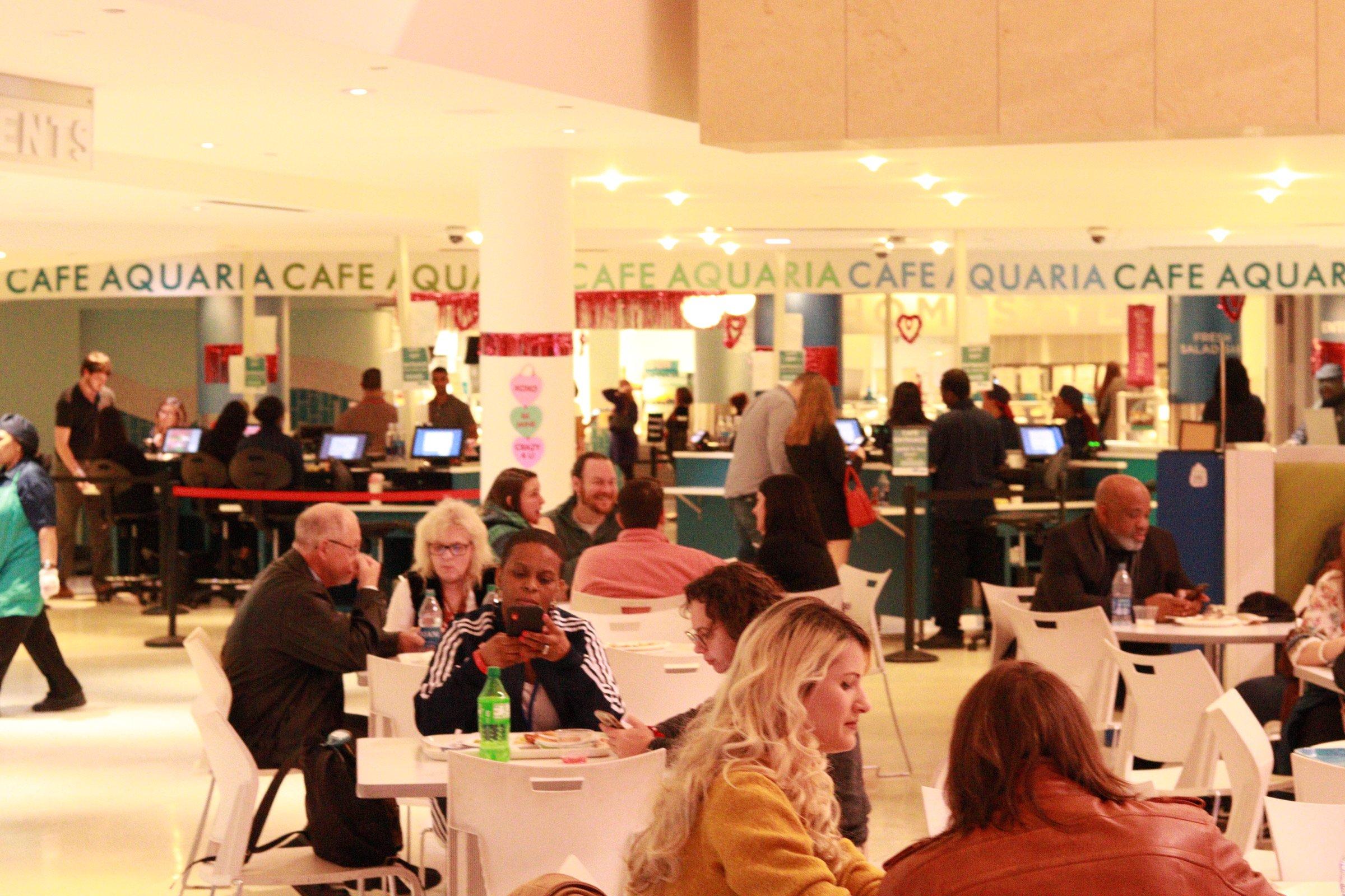 Atlanta Aquarium Restaurants