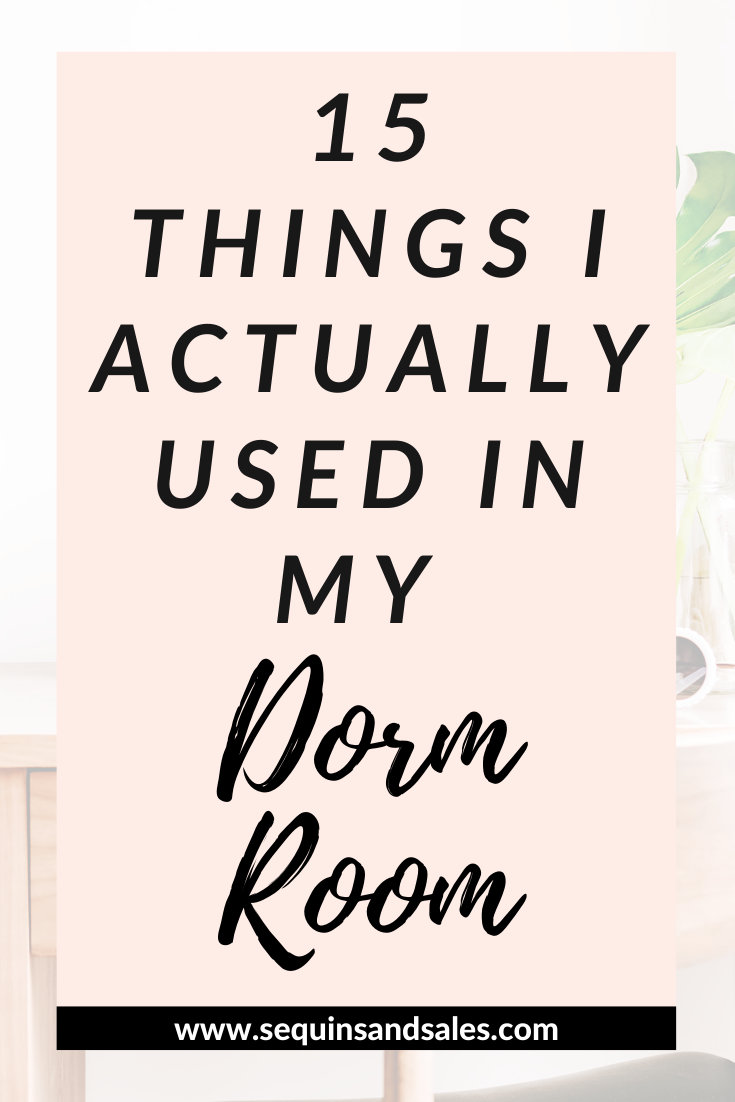 15 Things I Actually Used In My Dorm Room Cover Photo