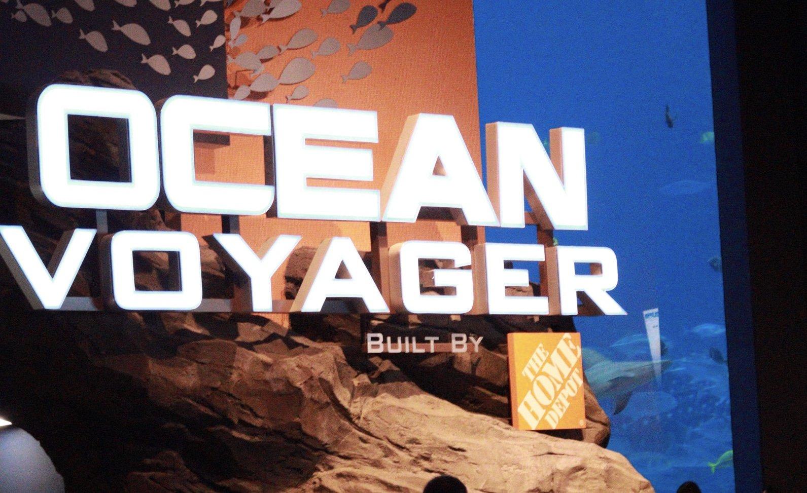 Ocean Voyager Georgia Aquarium