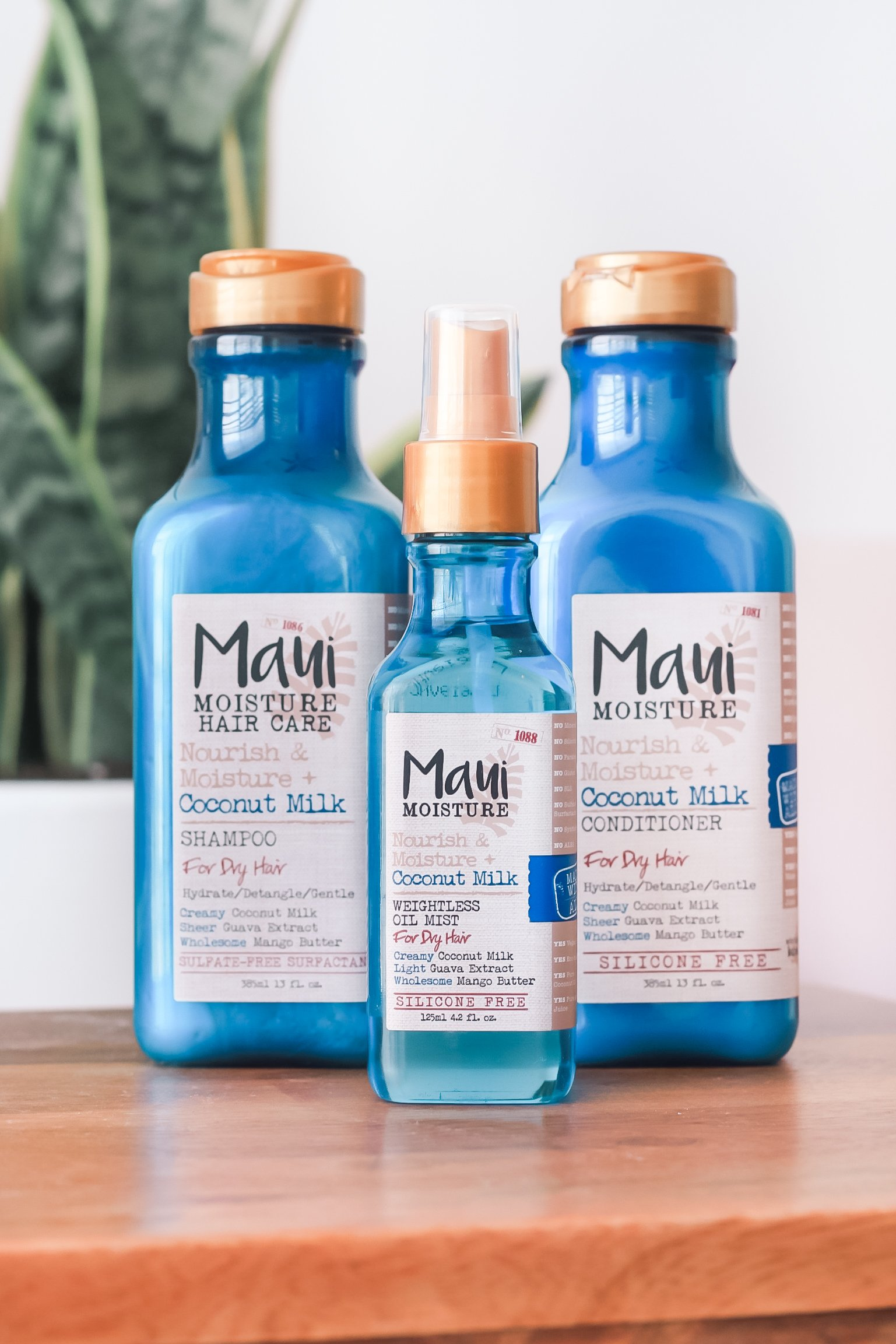 maui moisture coconut milk products
